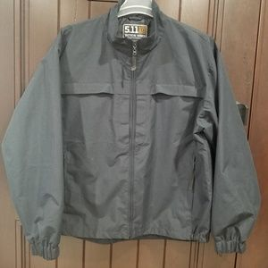 5.11 Tactical Men Light Weight Zip Up Jacket Large